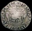 London Coins : A168 : Lot 2053 : Netherlands - Holland 28 Stuivers countermarked coinage of 1693, KM#69.11 with HOL countermark on Ov...