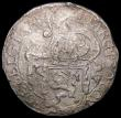 London Coins : A168 : Lot 2057 : Netherlands - Overijssel Lion Daalder 1612 KM#12 Fine for wear with poor surfaces, with the appearan...
