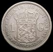 London Coins : A168 : Lot 2072 : Netherlands Gulden 1910 KM#148 Fine/Good Fine the key date in this series