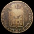 London Coins : A168 : Lot 2080 : Portugal 40 Reis 1847 countermarked coinage, G.C.P countermark with dot below C#415.2 countermark Fi...