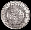 London Coins : A168 : Lot 2162 : Halfcrown 1817 Small Head ESC 618, Bull 2096 EF with some minor contact marks