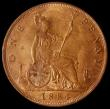 London Coins : A168 : Lot 2266 : Penny 1884 Freeman 119 dies 12+N, Lustrous UNC, in an LCGS holder and graded LCGS 78