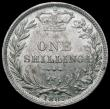 London Coins : A168 : Lot 2310 : Shilling 1887 Young Head ESC 1349, Bull 3080 A/UNC and nicely toned in an LCGS holder and graded LCG...