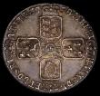 London Coins : A168 : Lot 2320 : Sixpence 1758 8 over 7 ESC 1624, Bull 1764 EF or better and with attractive old toning, rated R3 by ...