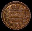 London Coins : A168 : Lot 2340 : Third Farthing 1885 Peck 1937 aU with traces of lustre