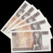 London Coins : A168 : Lot 77 : 10 Pounds Gill QE2 pictorial & Florence Nightingale B354 L (Lithography) Reverse issue 1988 (5) ...