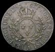 London Coins : A168 : Lot 773 : France Half Ecu 1792A Louis XVI KM#562.1 choice GEF or better evenly toned over original subdued lus...