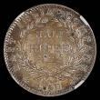 London Coins : A168 : Lot 798 : India Half Rupee 1840 Bombay, Legend continuous over bust, No initials on truncation, Stop after dat...
