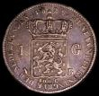 London Coins : A168 : Lot 831 : Netherlands Gulden 1829B KM#55 Privy mark palm branch, Brussels mint. All dates are rare in this ser...
