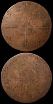 London Coins : A168 : Lot 834 : Poland - Swedish Occupation Ort (18 Groszy) undated (1656) Carolus X KM#38, Kop 9689, 30mm diameter ...