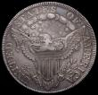 London Coins : A168 : Lot 874 : USA Dollar 1798 Scot's Heraldic Design, 13 Stars, Cross pattern, Breen 5381 countermarked T.CLA...