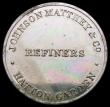 London Coins : A168 : Lot 897 : Advertising Token Johnson Matthey & Co. Refiners, Hatton Garden undated (c.1860-1890) 20mm diame...