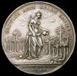 London Coins : A168 : Lot 951 : Jernegan's Lottery 1736 39mm diameter in Silver by J.S.Tanner Eimer 537 Obverse: Minerva standi...