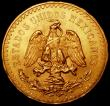 London Coins : A169 : Lot 1014 : Mexico 50 Pesos Gold 1945 KM#481 A/UNC and lustrous