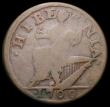 London Coins : A169 : Lot 1130 : USA Halfpenny 1760 VOCE POPULI Group III, Head divides E and R of HIBERNIA, 60 over 00, tail added t...