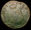 London Coins : A169 : Lot 1139 : USA/Ireland Farthing undated St. Patricks, legend with trefoil of pellets after FLOREAT, Fair with g...