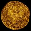London Coins : A169 : Lot 1176 : Gold Crown Charles I Fourth Bust, group D S.2715 mintmark Crown Good Fine