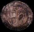 London Coins : A169 : Lot 1228 : Shilling 1653 Commonwealth ESC 987, Bull 124 a few small striking and small edge cracks, overall a v...