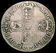 London Coins : A169 : Lot 1284 : Crown 1687 TERTIO ESC 78, Bull 743 VG