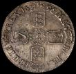 London Coins : A169 : Lot 1288 : Crown 1696 OCTAVO ESC 89 VF/NVF with some light scratches and some haymarking