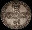 London Coins : A169 : Lot 1290 : Crown 1703 VIGO, TERTIO edge, ESC 99, Bull 1340, the R in TERTIO overstruck, the underlying letter u...