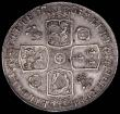 London Coins : A169 : Lot 1292 : Crown 1735 OCTAVO Roses and Plumes ESC 120, Bull 1663 the edge with signs of old smoothing at 3 o...