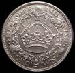 London Coins : A169 : Lot 1320 : Crown 1928 ESC 368, Bull 3633 a superior example exhibiting much original mint lustre and a subtle a...