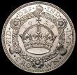 London Coins : A169 : Lot 1321 : Crown 1928 ESC 368, Bull 3633 GVF/NEF the obverse with some contact marks