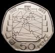 London Coins : A169 : Lot 1426 : Fifty Pence 1992/3 EU Presidency S.H5 UNC with practically full lustre, many of these were melted, n...
