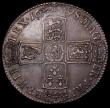 London Coins : A169 : Lot 1546 : Halfcrown 1698 DECIMO ESC 554 GVF/VF with an attractive grey tone