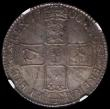 London Coins : A169 : Lot 1548 : Halfcrown 1700 DVODECIMO ESC 561, Bull 1043 in an NGC holder and graded MS62 the coin displaying an ...