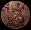 London Coins : A169 : Lot 1610 : Halfpenny 1772 Reverse A Peck 899 EF