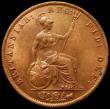 London Coins : A169 : Lot 1617 : Halfpenny 1854 Peck 1542 a sharply struck example attractively toned, the reverse displaying much go...