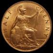 London Coins : A169 : Lot 1628 : Halfpenny 1904 Freeman 383 dies 1+B Lustrous UNC, in an LCGS holder and graded LCGS 82, the joint fi...