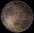 London Coins : A169 : Lot 1706 : Shilling 1700 Fifth Bust, No Stops on Reverse, Tall 00 in date ESC 1122, Bull 1153 (Bull lists the c...