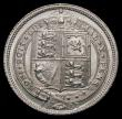 London Coins : A169 : Lot 1819 : Sixpence 1887 Jubilee Head Withdrawn type, R over I in VICTORIA ESC 1754A, Bull 3273, Davies 1152, c...