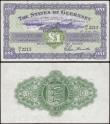 London Coins : A169 : Lot 190 : Guernsey (2) both 1960's Guillemette signature issues comprising the 10 Shillings Pick 42b (BY ...