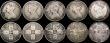 London Coins : A169 : Lot 2057 : Halfcrowns (2) 1882 VG scarce, 1891 EF toned with two edge bruises, Florins (7) 1855 VG, 1864 Die Nu...