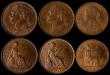 London Coins : A169 : Lot 2073 : LCGS slabbed items (5) Penny 1901 Freeman 154 dies 1+B slabbed and graded LCGS 78, Halfpenny 1887 Fr...