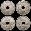 London Coins : A169 : Lot 2155 : Denmark (4) Krone 1935 (h) N GJ KM#824.2 NEF with some flan flaws, 25 Ore (3) 1932 (h) N GJ NVF, 193...