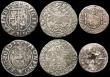 London Coins : A169 : Lot 2295 : World a small group (6) Austria 3 Kreuzer 1665 Leopold I, KM#1116 GF/NVF, German States - Silesia 16...