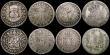 London Coins : A169 : Lot 2308 : World Silver a small group (7) Japan Yen Year 24 (1891), South Africa 2 1/2 Shillings 1895, Mexico (...