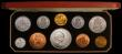 London Coins : A169 : Lot 401 : Currency Set 1965 (10 coins) comprising Sovereign, Crown, Halfcrown, Florin, English Shilling, Scott...