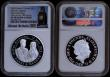 London Coins : A169 : Lot 503 : Five Pound Crowns 2018 a 2-coin set Royal Wedding - Harry and Meghan Silver Proof and Silver Proof P...