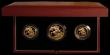 London Coins : A169 : Lot 681 : The 1987 United Kingdom Gold Proof Set, the three coin set Two Pounds, Sovereign and Half Sovereign ...