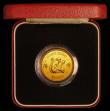London Coins : A169 : Lot 767 : Hong Kong $1000 1980 Year of the Monkey KM#47 UNC in the red box of issue with certificate