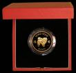 London Coins : A169 : Lot 774 : Hong Kong $1000 1982 Year of the Dog KM#50 Gold Proof FDC in the red box of issue with certificate