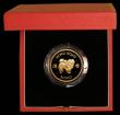 London Coins : A169 : Lot 775 : Hong Kong $1000 1982 Year of the Dog KM#50 Gold Proof FDC in the red box of issue with certificate