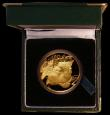 London Coins : A169 : Lot 813 : South Africa Natura Coinage 1998 One Ounce of .999 Gold, Obverse: Leopard's head in fine detail...