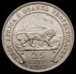 London Coins : A169 : Lot 904 : East Africa 25 Cents 1912 KM#10 UNC